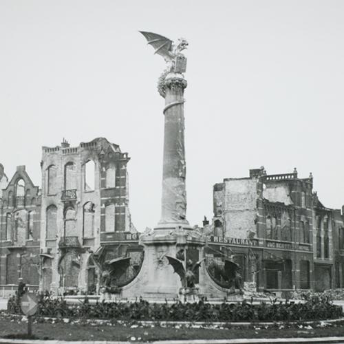 Oktober 1944 – Stationsplein